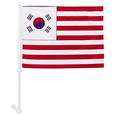 High quality 1-Ply Korea car flag knit polyester