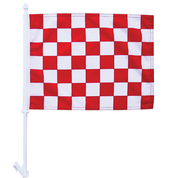 High quality 1-Ply Sale car flag knit polyester