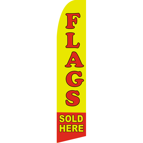 Single Sided Swooper Flags,Beach Flag