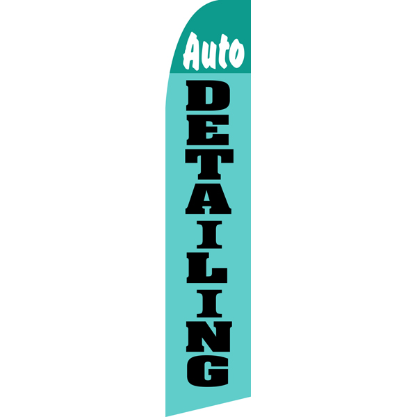 Auto Detailing Swooper Flags,Beach Flag
