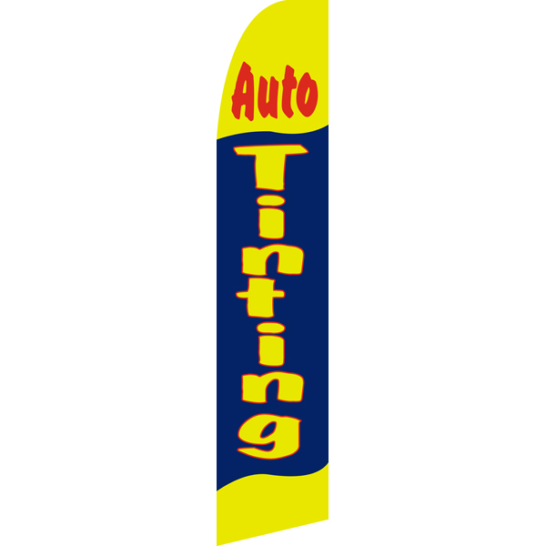 Auto Tinting Swooper Flags