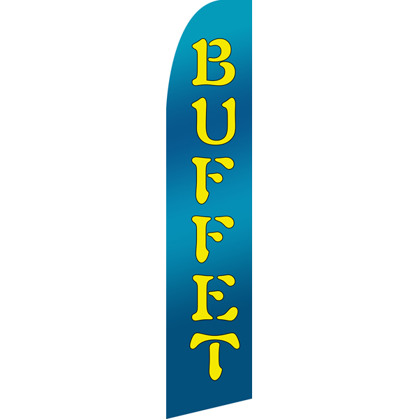 Buffet Swooper Flags,Beach Flag