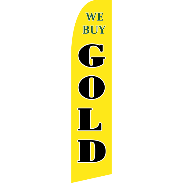 We Buy Gold Swooper Flags,Beach Flag