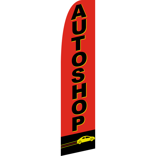 Auto Shop Swooper Flags,Beach Flag