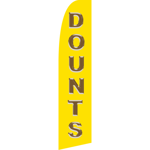 Dounts Swooper Flags,Beach Flags
