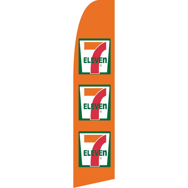 Seven Eleven Swooper Flags,Beach Flags