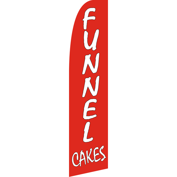 Funnel Cakes Swooper Flags,beach flag