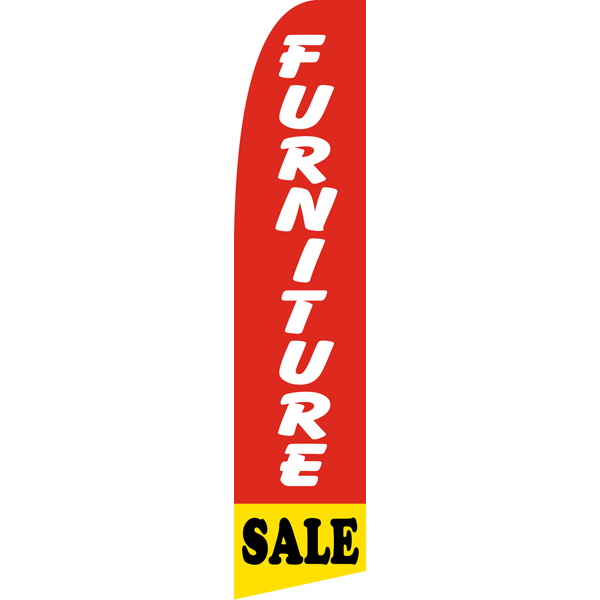 Furniture Sale Swooper Flags,beach flag