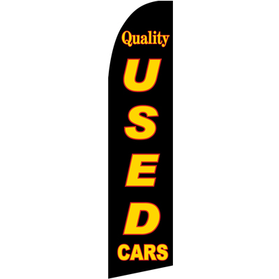 Quality Used Cars Swooper Flags  Beach Flags