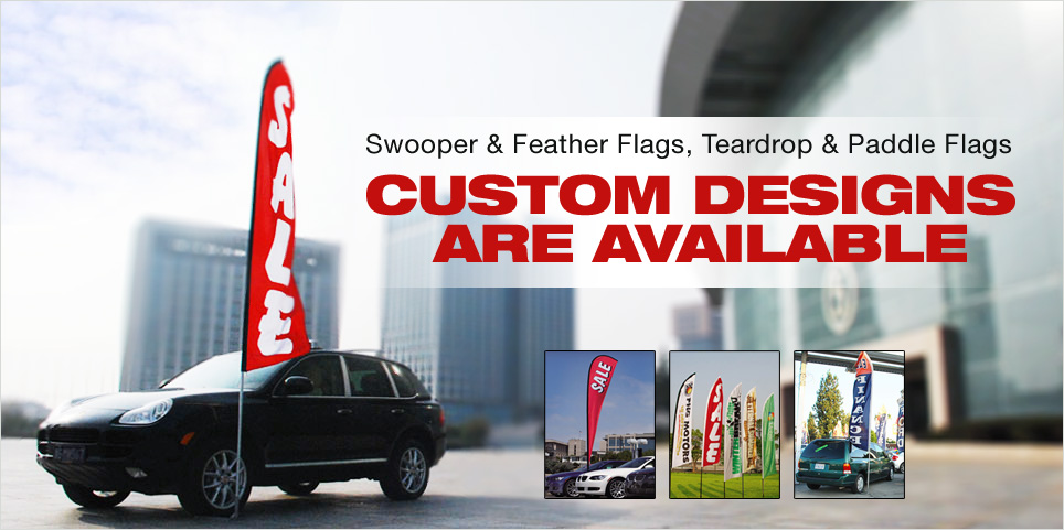 The Swooper Flag is a great ideal for advertisment